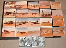 40+ Orig Vintage Wwii & other Aircraft Photo Album, Pilot & Collector's Estate