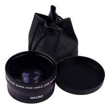 58mm 0.45 X Wide Angle Macro Lens For Canon EOS 450D 500D 550D 600D 1100D