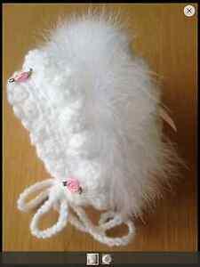 Traditional bonnet all sizes premature newborn 0-3 3-6 6-9 9-12 12-18 18-24 mth