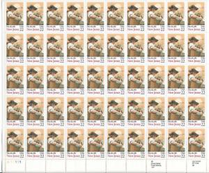 SCOTT#2338, 22¢ NEW JERSEY Statehood  sheet of 50 MNH