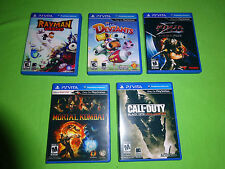 5 PS Vita Replacement Cases, Game Box Case PlayStation - Mortal Kombat Rayman