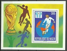 Niger Coupe du Monde Football Fifa World Cup Fußball Weltmeisterschaft ** 1978