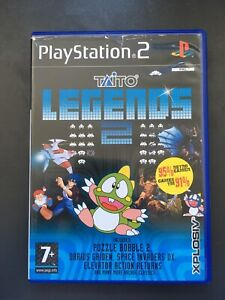 Taito Legends 2 (Sony PlayStation 2, 2005) - European Version