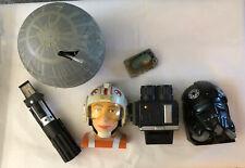 Star Wars Galoob Lot 5 Micro Machines Action Fleet 1996-1997 Death Star Tie Luke