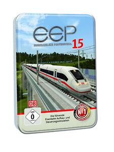 EEP 15 Eisenbahn.exe Professional: Eisenbahn-Simulation, Modellbahn-Simulation