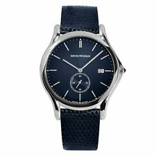 Armani ARS1010 Men's Swiss Made Blue Quartz Watch
