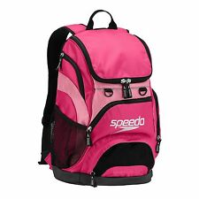 CLEARANCE SPEEDO TEAMSTER BACKPACK SWIMMING GYM BAG (35L) PINK