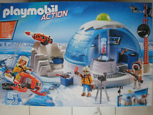 Playmobil 9055 Polar Ranger Hauptquartier, Neuware