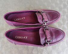 Fast neu : GERO - Schuhe - 39, 5 - dunkles Lila/brombeer