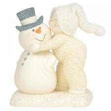 Snowbabies A Kiss For The Man I Love Figurine