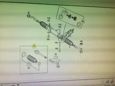 Genuine MERCEDES VITO 2004-2011 2xSteering Inner Tie Rod Bar LH/RH & DIFF Bolts