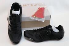 New Giro Sentrie Techlace Road Bike Shoes 42.5 9.5 EC70 Carbon Boa Black Men's