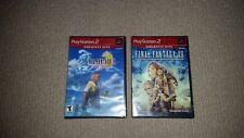 Final Fantasy X + XII Sony Playstation 2 Games NTSC U/C, Sealed, US, NTSC NTSC
