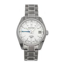 Grand Seiko Heritage Auto 40mm Titanium Mens Bracelet Watch Date SBGJ211