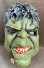 Endgame Hulk Cosplay Mask Latex Green Halloween Mask