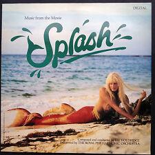 Rare! Lee Holdridge Ron Howard's SPLASH soundtrack LP '84 Tom Hanks Daryl Hannah