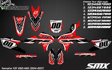 2014 2015 YZF 250/450 mx graphics motocross kit decals stickers YZ450F 2016 YZ
