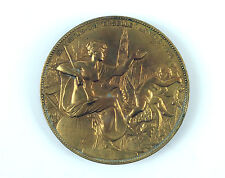 """Belgian bronze medal """"Exposition Universelle Anvers"""" 1885 by Ch.Wiener.Bruxelles"""