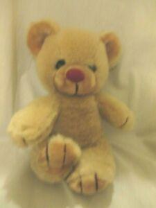 "WILLITTS DESIGNS  Plush Stuffed Teddy Bear 11"" Vintage Beige Tan"