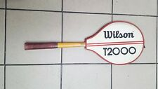 Vintage Wilson T2000 Tennis Racquet Racket with Cover very good condition