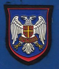 SERB ARMY OF KRAJINA, SERB REBELS IN CROATIA, SLEEVE PATCH 1990s - KRAJINA !