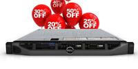 Dell PowerEdge R620 2x Xeon E5-2640 2.50GHz 12-CORES 192GB DDR3 H710 10Gb Dual P