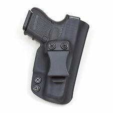 Badger State Holsters- Glock 26/27 IWB Black Custom Kydex Holster G26 G27