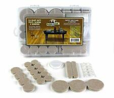 214 Pc. Heavy Duty Felts, Sliders & Bumpers, Floor Furniture Protection Kit