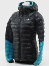 North Face Women's Summit L3 Down Hoodie Puffer Jacket Size Small (Black/Blue)