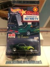 Hot Wheels 4 Decades Of Hot Rods '68 Camaro Limited Edition Series 1 Hot Rod Mag