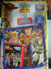 PANINI TOY STORY 4 STICKER STARTER PACK ALBUM STICKERS TRADING CARDS CARD HOLDER