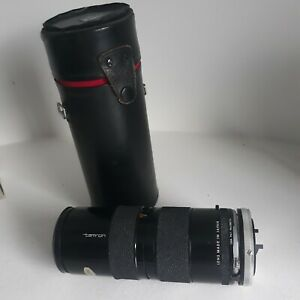 Tamron 85-210mm zoom lens - ADAPTALL 2 MACRO BARR f4.5, CANON FD mount, case
