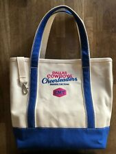 Dallas Cowboys Cheerleaders: Making The Team CMT Tote Bag (Lands' End) - RARE!