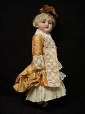 "Bru Type Doll Dress and Jacket – Antique style for 18"" French, German doll – D3"