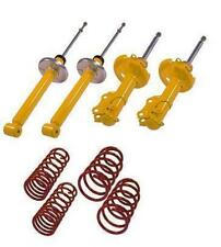 sport suspension lowering kit springs shock absorbers VW Polo 6N2 99-01 MK4 Mk5