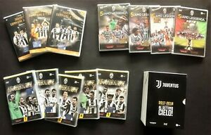 DVD UFFICIALI JUVENTUS STAGIONI 2015-16-17-18-19 DVD MIXING SEASON OFFICIAL DVD