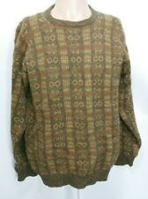 Vintage Scapa L/XL Sweater 100% Wool Hand Made in of Scotland Fisherman Pullover