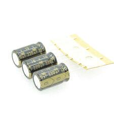 3pcs ELNA  Cerafine  220uf/16V  Audio Electrolytic Capacitors