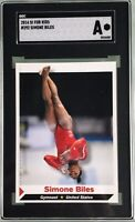 Simone Biles 2014 Sports Illustrated for Kids SI Kids Rookie RC #292 SGC