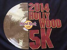 Org. LESLIE JORDAN  Hard Rock Cafe Hollywood 2014 5K SPORT RUN T-SHIRT FITNESS L