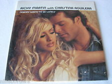RICKY MARTIN/CHRISTINA AGUILERA: NOBODY WANTS TO BE LONELY (CD Sngl.) NEW/SEALED