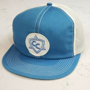 Vintage K BRAND Snapback Trucker Hat Mesh Patch Cap K Brand Made in the USA