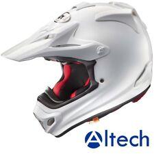 New 2018 Arai MX-V Plain White Motocross Helmet Medium 57-58cm
