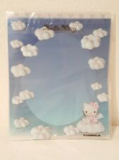 1998 Vintage Hello Kitty Blue Angel Heart Stationary Set Rare New/Sealed