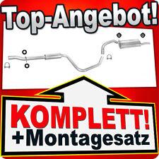Auspuff VOLVO 440 460 1.6 1.7 1.8 Schrägheck Stufenheck 91-97 Auspuffanlage 608