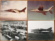 11 photos photographie AVIONS MARCEL DASSAULT vers 1980 Mirage Alpha Jet