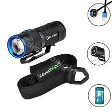 Olight S1R Baton USB rechargeable 900 Lumen CREE LED Flashlight with holster