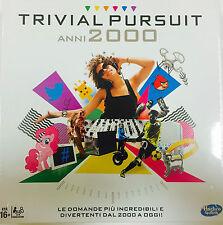 TRIVIAL PURSUIT ANNI 2000 ITALIANO gioco societa' B7388103 Hasbro -nuovo- Italia