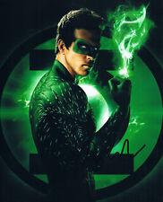 "Ryan Reynolds genuine autograph photo 8""x10"" signed In Person Green Lantern"