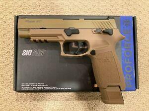 NEW VFC Sig Sauer M17 P320 MHS Green Gas Blowback Airsoft Pistol Proforce